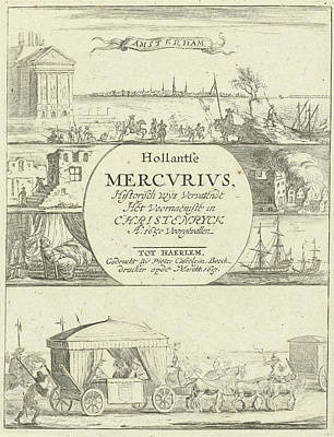 Several Events In Europe In The Year 1650 Poster