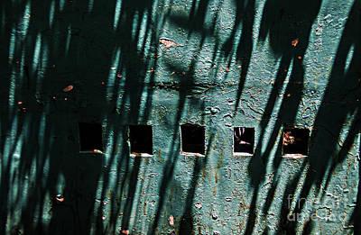 Sun-shaded Walls Poster