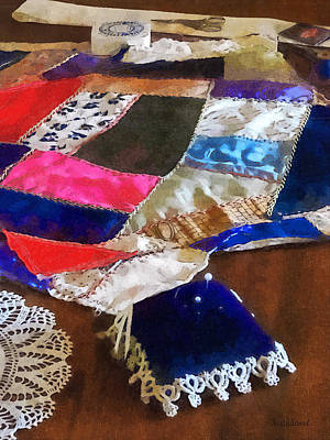 Sewing - Making A Quilt Poster
