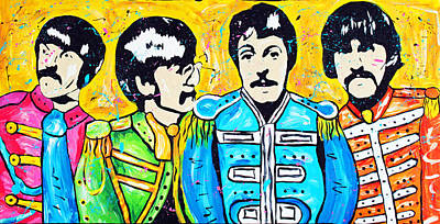 Sgt. Pepper's Lonely Hearts Club Poster by Tara Richelle
