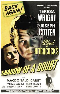 Shadow Of A Doubt - 1943 Poster