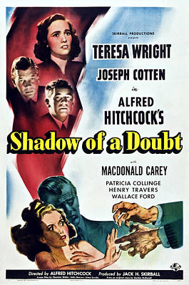 Shadow Of A Doubt, From Top Teresa Poster by Everett