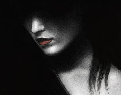 Shadowed In My Mind Poster by Pat Erickson