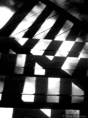 Shadowed Steps Poster by Terri K Designs