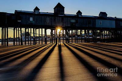 Shadows And Sunset Poster by Joe Faragalli