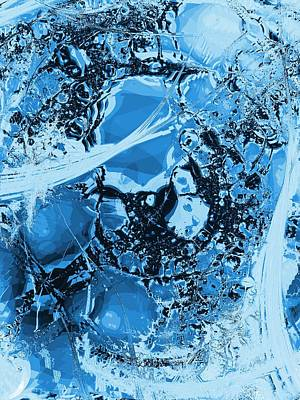 Shadows Under Ice Poster by Anastasiya Malakhova