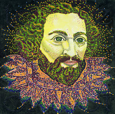 Shakespeare Poster by Barry Novis