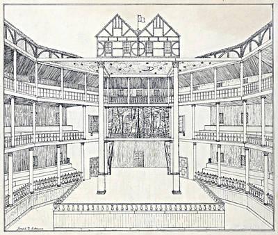 Shakespeares Globe Theatre Poster