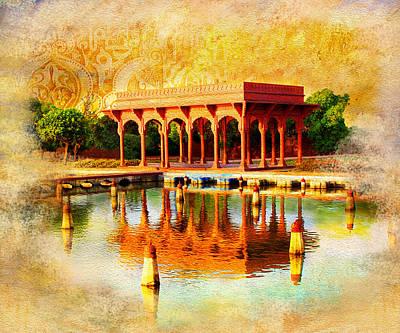 Shalimar Gardens Poster