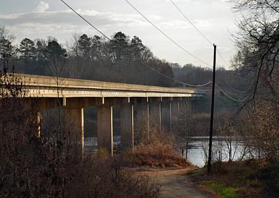 Shallowford Bridge Over The Yadkin- 51008732b Poster by Paul Lyndon Phillips