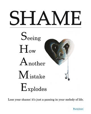 Shame Buseyism By Gary Busey Poster by Buseyisms Inc Gary Busey