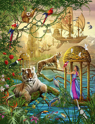 Shangri La Summer Poster