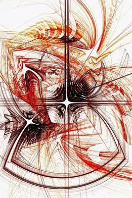 Shapes And Symbols Poster by Anastasiya Malakhova