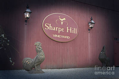 Sharpe Hill Vineyard Sign Poster
