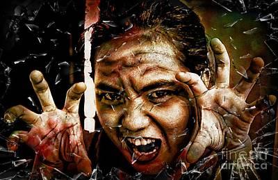 Shattering Horror Poster