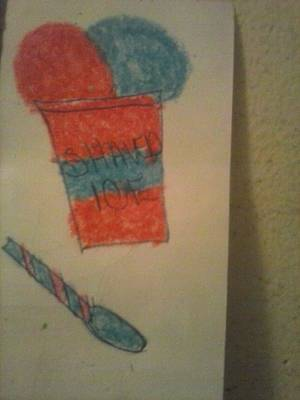 Shaved Ice  Poster by Shante