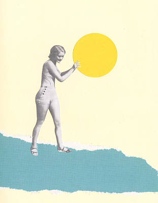 She Caught The Sun Poster by Cassia Beck