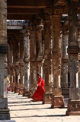 She Moves Through The Ruins Poster by Aidan Moran
