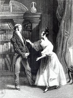 She Then Told Him What Mr Darcy Had Voluntarily Done For Lydia Poster by William Greatbach