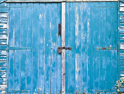 Shed Door Poster by Tom Gowanlock
