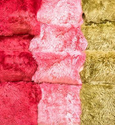 Sheepskin Rugs Poster by Tom Gowanlock