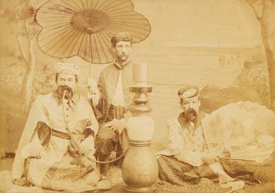 Poster featuring the photograph Sheiks by Paul Ashby Antique Image