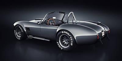 Shelby Cobra 427 - Venom Poster by Marc Orphanos