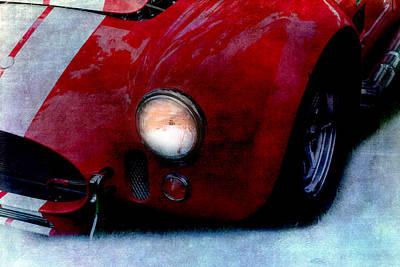 Shelby Cobra Poster by Gunter Nezhoda