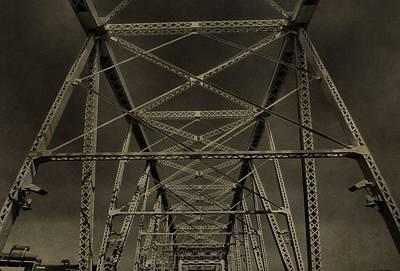 Shelby Street Bridge Details Nashville Poster by Dan Sproul