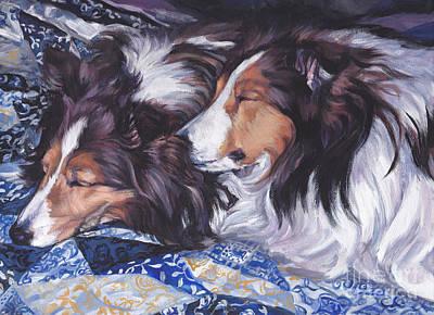 Sheltie Love Poster by Lee Ann Shepard