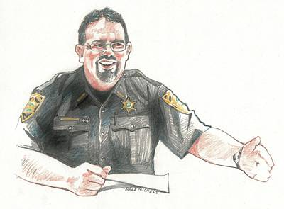Sheriff Mike Headley Poster