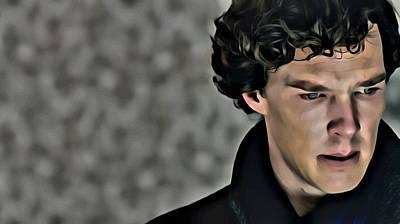 Sherlock Poster by Florian Rodarte