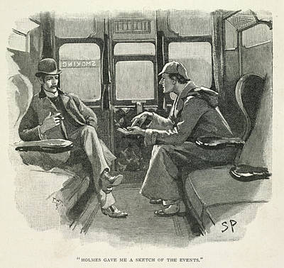 Sherlock Holmes And Dr. Watson Poster