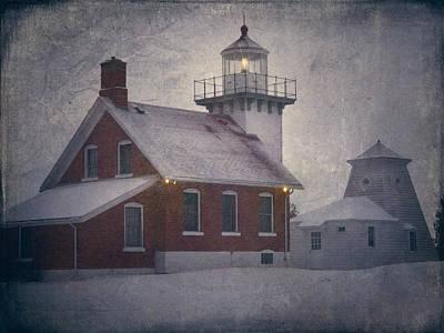 Sherwood Point Light Poster