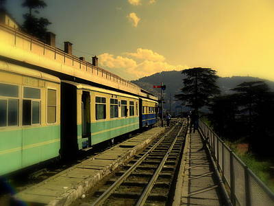 Shimla Railway Station Poster by Salman Ravish