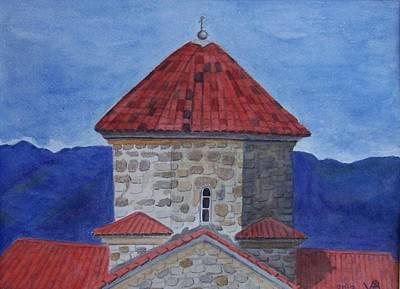 Shio Mgvime Monastery In Rep. Of Georgia Poster