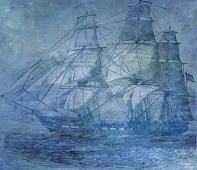 Ship 2 Poster by Angelina Vick
