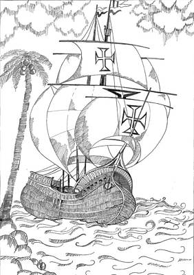 Ship Poster by Shruti Bhagwat