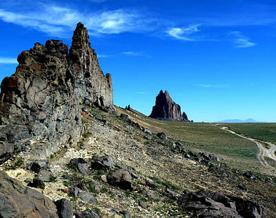 Poster featuring the photograph Shiprock by Alan Socolik