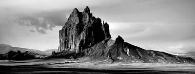 Shiprock Panorama Poster by Erik Poppke
