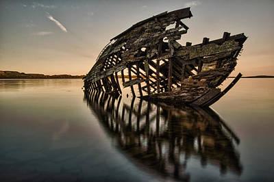 Shipwreck's Skeleton Poster by Jakub Sisak