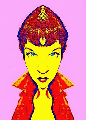 Shirley Maclaine Alias Poster by Art Cinema Gallery