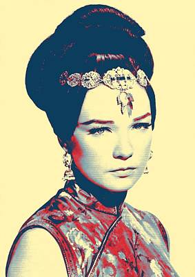 Shirley Maclaine In Gambit Poster by Art Cinema Gallery