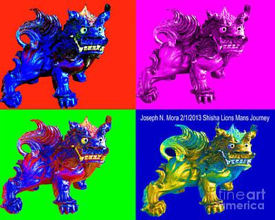 Shisha Lion Poster