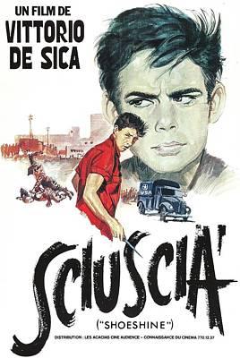 Shoeshine, Aka Sciuscia, Italian Poster