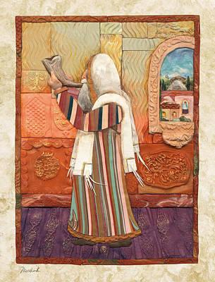 Shofar Poster by Michoel Muchnik