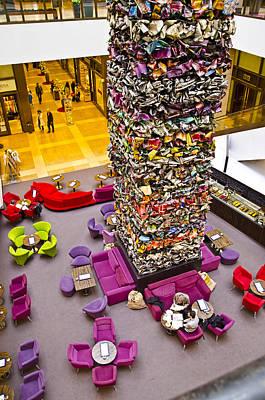 Shopping Center Lobby - Berlin Poster by Jon Berghoff
