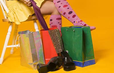 Shopping Legs Poster