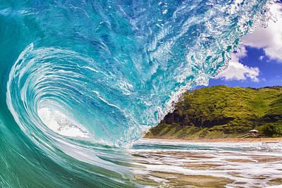 Shorebreak Poster by Gregg  Daniels