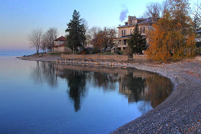 Poster featuring the photograph Shoreline - Kingston Ontario by Jim Vance